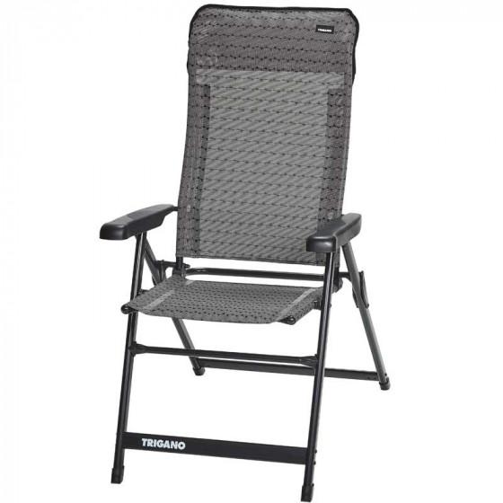 fauteuil alu dossier haut slim cocoon trigano. Black Bedroom Furniture Sets. Home Design Ideas