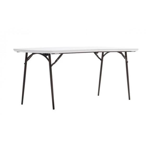 Table polyéthylène pliante 180
