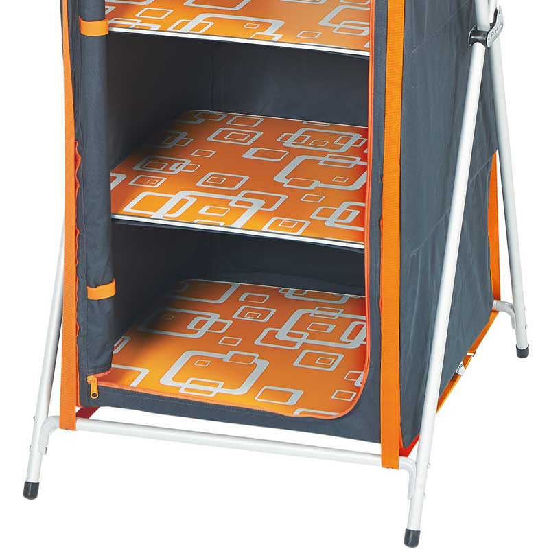 meuble rangement pliant xl gris tangerine. Black Bedroom Furniture Sets. Home Design Ideas
