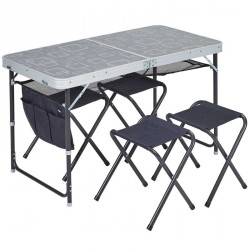 Table + 4 Tabourets