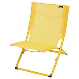 Chaise de plage jaune
