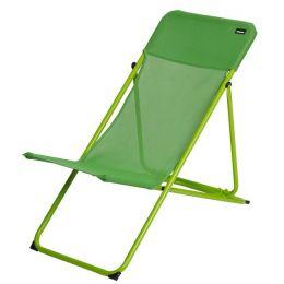 Chaise longue vert pomme