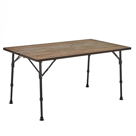 Table camping nid d'abeille