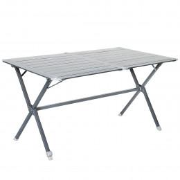 Table camping aluminium - 21 x 11 x 134 cm