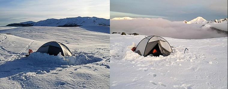 conseil pour camper en hiver