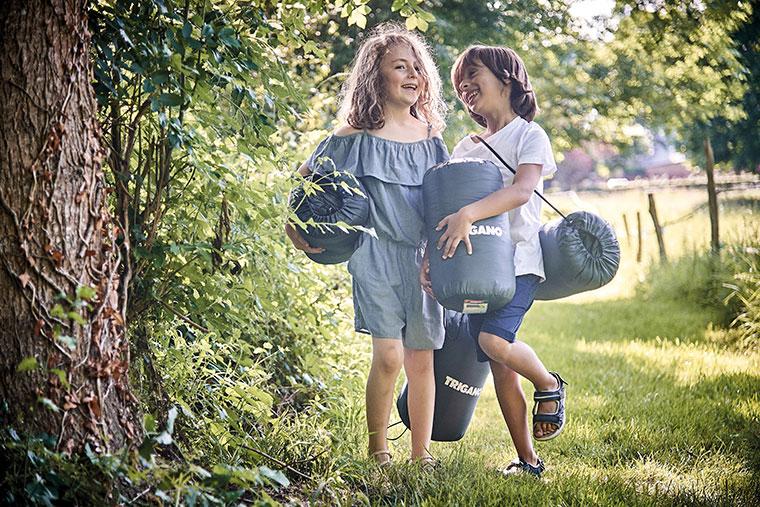 Idees occuper les enfants camping