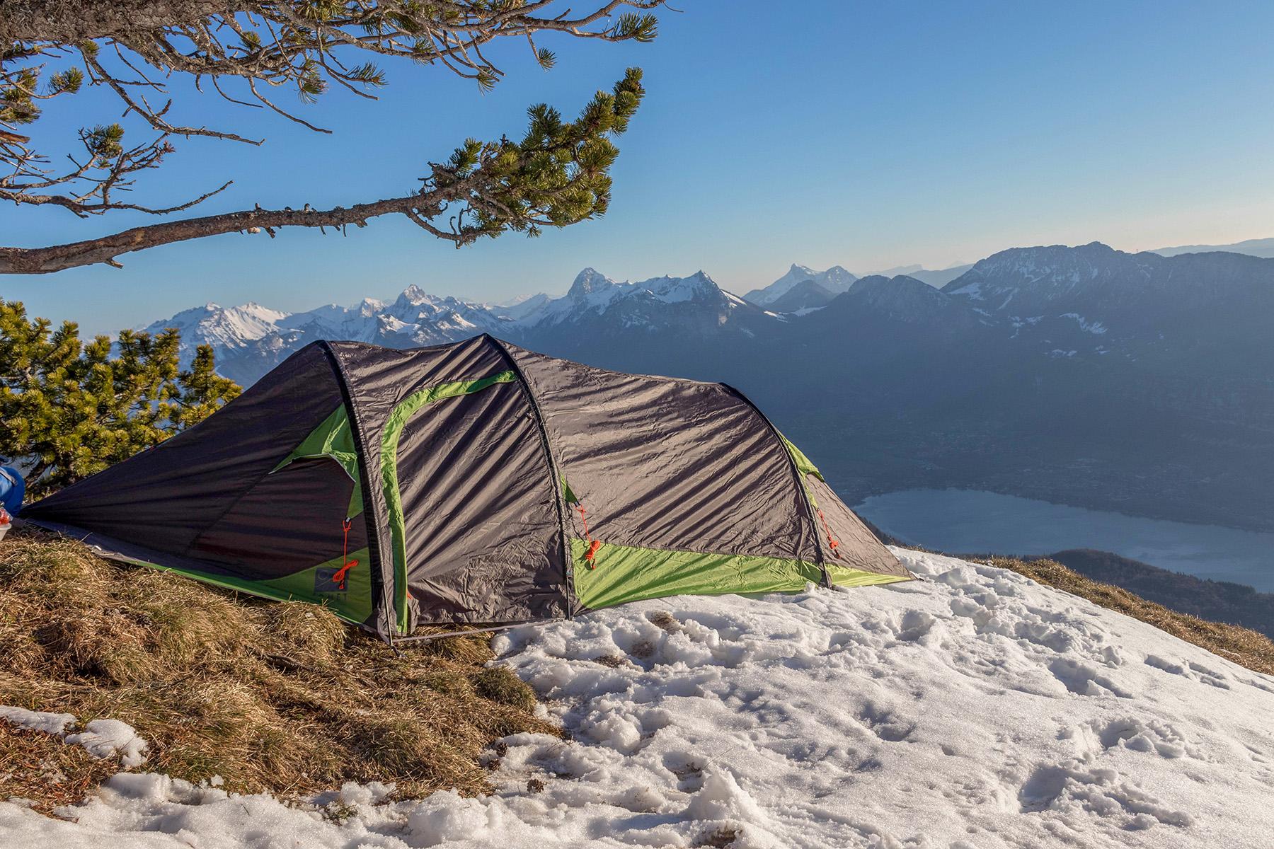 Rester au chaud sous sa tente