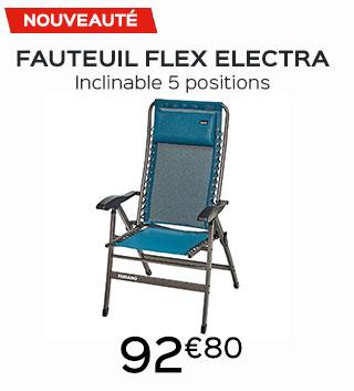 Fauteuil flex electra